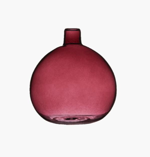 Bubblan minivas vinröd