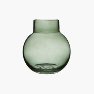 Bubblan vas grön liten