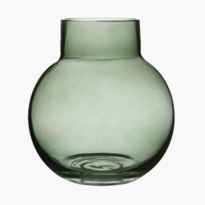 Bubblan vas grön stor