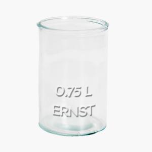 glasburk 0,75 liter Ernst