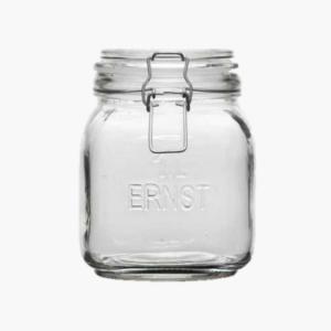 glasburk inkl. recepthäfte- 1 liter ernst