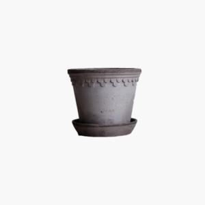 Bergs potter copenhagen 12 cm antik grå