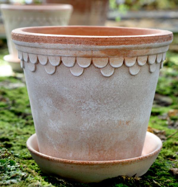 castle pot antik lera bergs potter