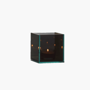 liten tealight holder grey infinity