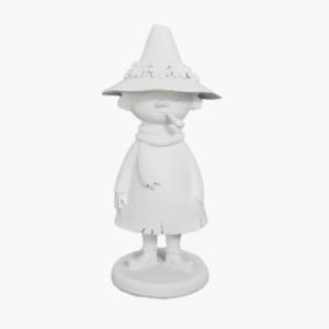 mumin-snusmumriken-figurin-vit-strömshaga