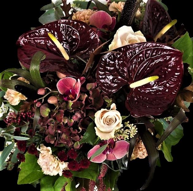 mysig höstbukett från Nilssons blommor