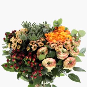 Låt oss florister skapa en vacker blombukett