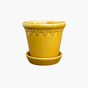 Bergs Potter Copenhagen Yellow amber liten 12cm