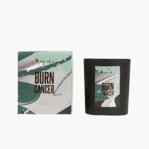 Burn Cancer doftljus med doft av Blommig Magnolia