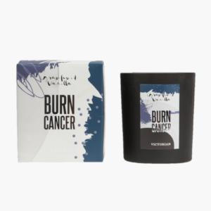 Burn Cancer Victorian doftljus Grapefruk och Vanilj