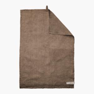 Ernst design kokshandduk linne, kanel