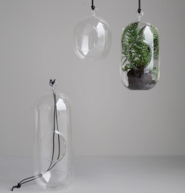Dbkd hanging glass i flera olika storlekar for grona kvistar och blommor i ditt fonster