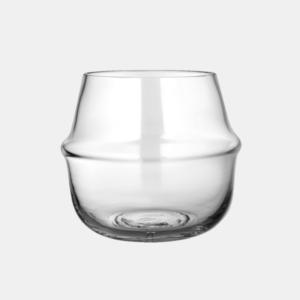 stor glasvas fran ernst design i klarglas