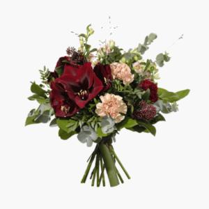 Glimrande lyx- en otroligt fin vinterbukett- skicka blombud redan idag- Nilssons blommor