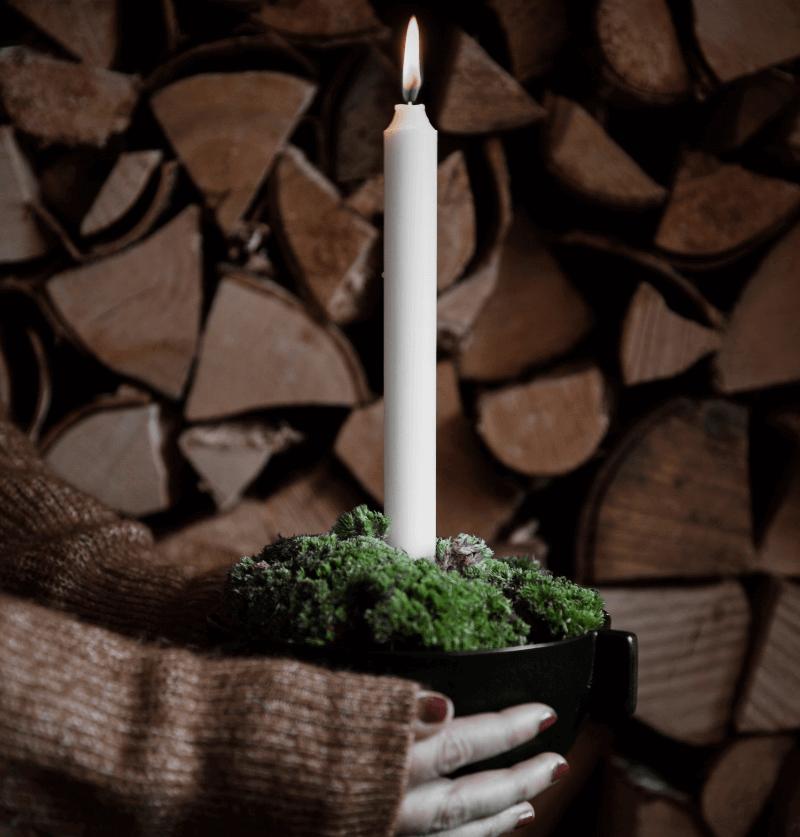 Ljusskal fran ernst form- Nilssons blommor